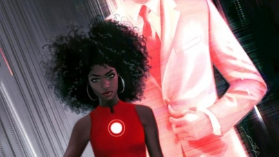 """Riri Williams Is The New """"Iron Woman"""" And She Is A 15yr Old Black Girl"""