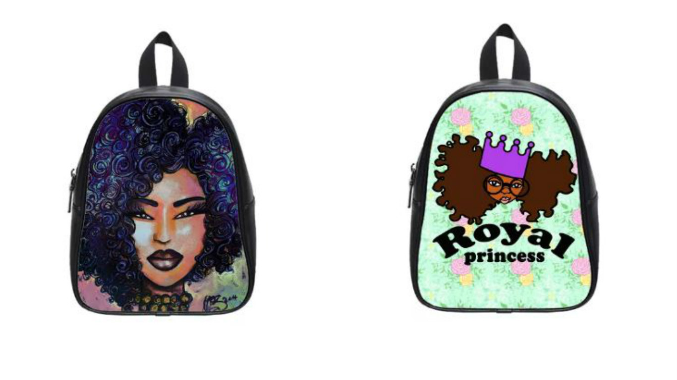 Black Woman Creates Natural Hair Backpacks Perfect For - Cute School Hairstyles