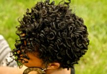 coily protective style