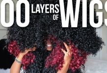 100 layers of wigs