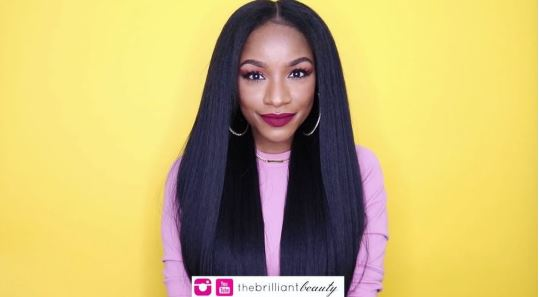 How To Make A Kinky Straight Wig For Under $25