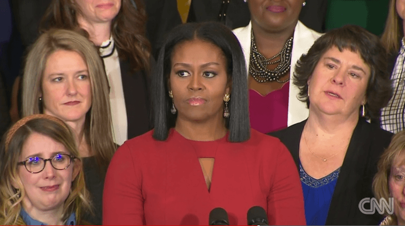 """Lead By Example With Hope; Never Fear."" – Michelle Obama Delivers Her Final Remarks As First Lady"