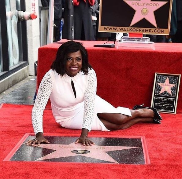 Congratulations Viola Davis On Receiving Your Star On The Hollywood Walk Of Fame – Well Deserved!!