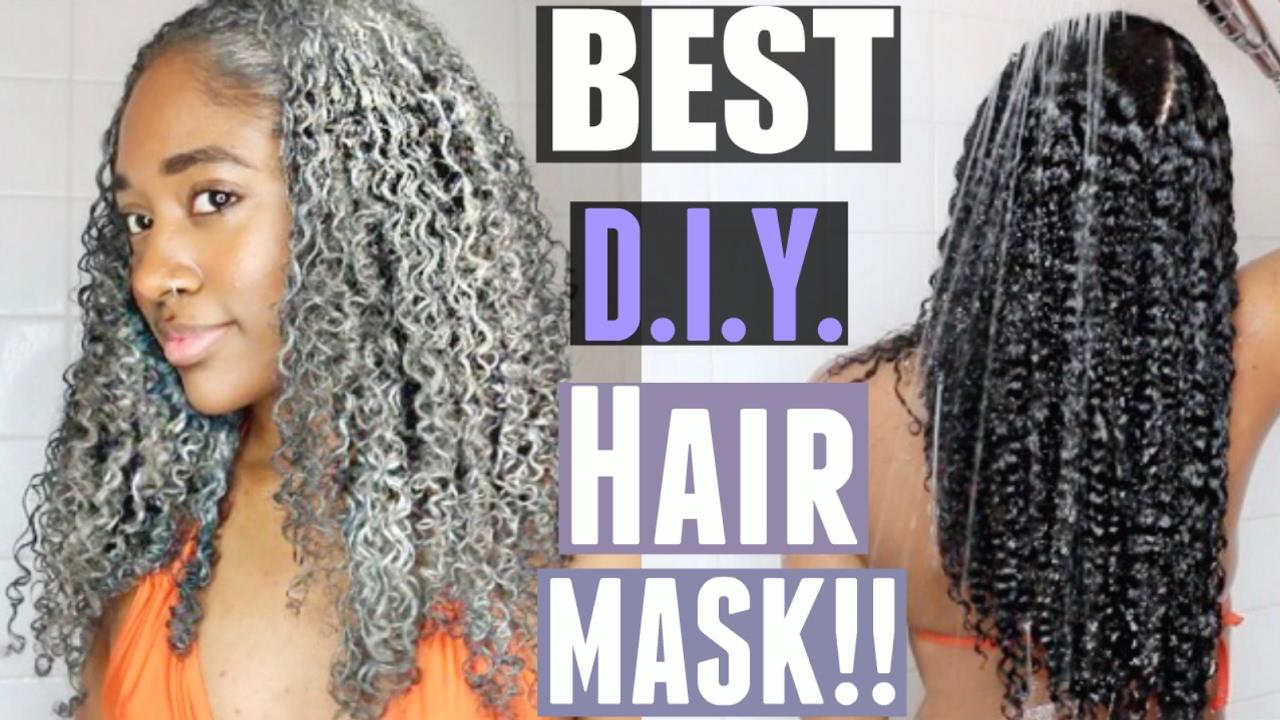 All Natural Hair Mask