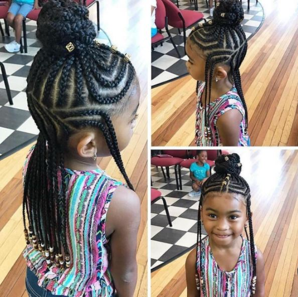 Little Girl Hairstyles With Braids And Beads Hairstyles