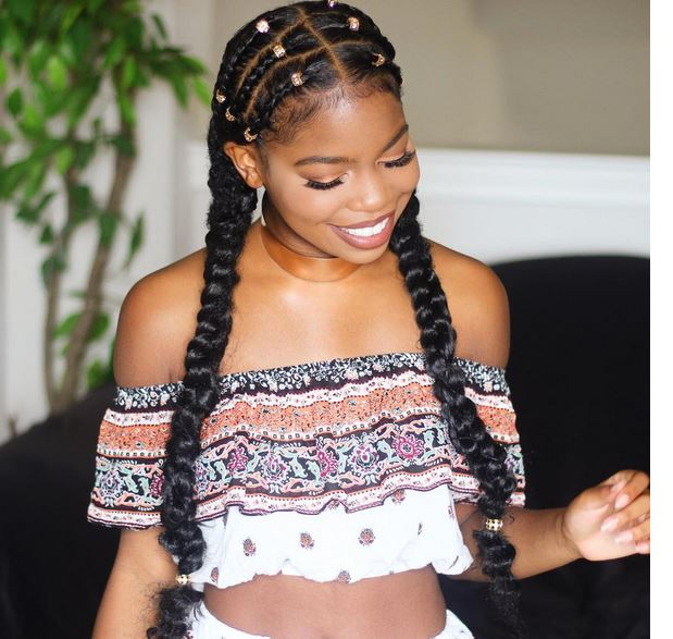 Quick And Easy Braid Protective Style With @Ayeciara - Emily CottonTop