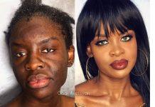 makeup transformation