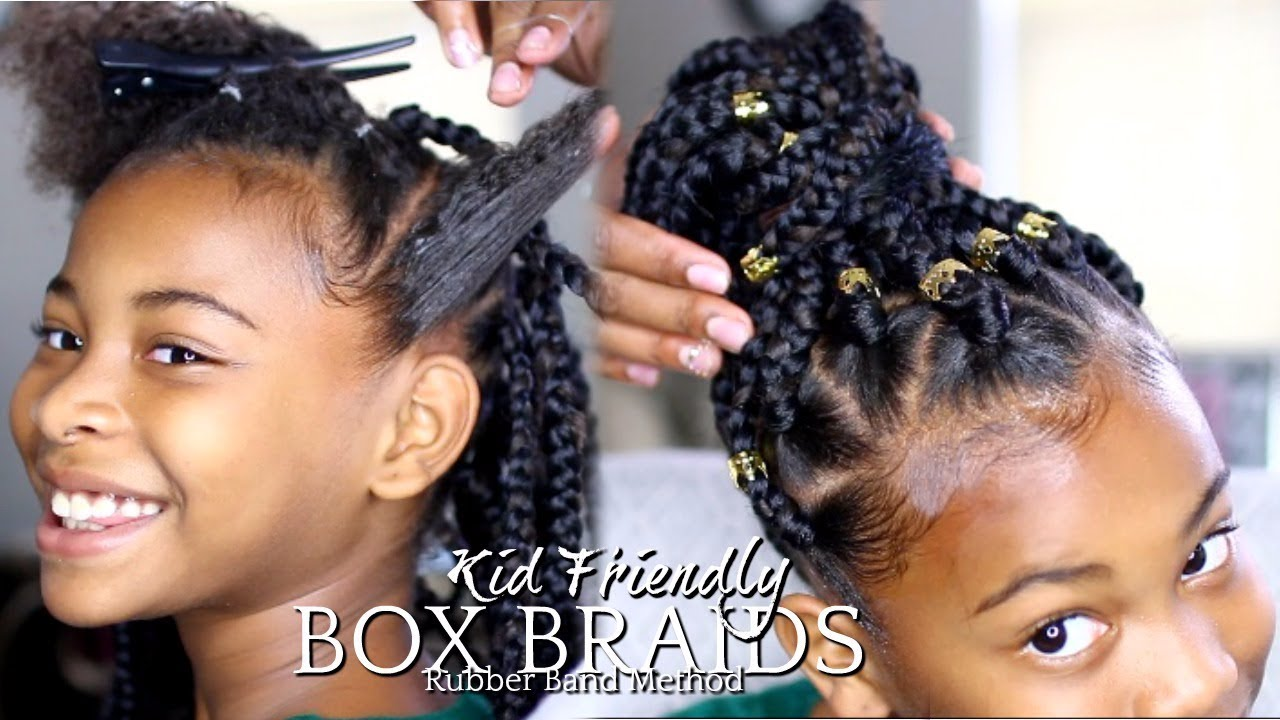 Kids hairstyles archives emily cottontop watch this third grader get rubber band box braids on her fine hair kids hairstyles urmus Image collections