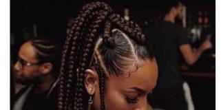 tribal box braids