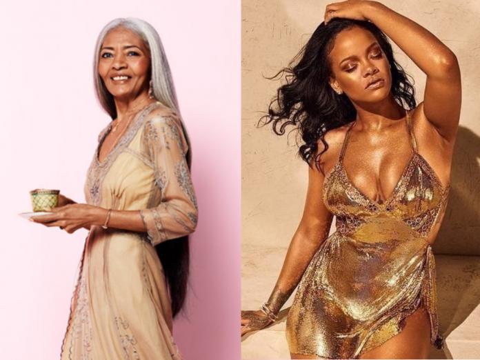 Rihanna and JoAni Johnson